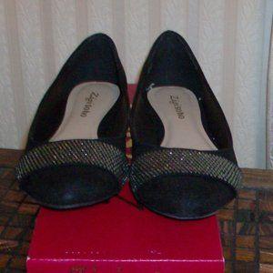 zigi soho black & silver shoes